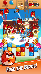 Angry Birds Blast MOD (Unlimited Moves) 1