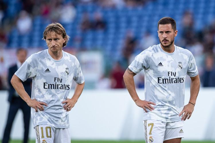 Luka Modric monte au créneau pour défendre Eden Hazard