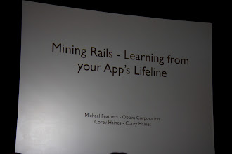 Photo: 2nd session on learning from your App's lifeline