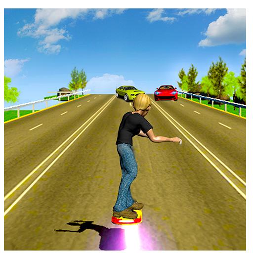 ホバーボードレーサー 模擬 LOGO-玩APPs