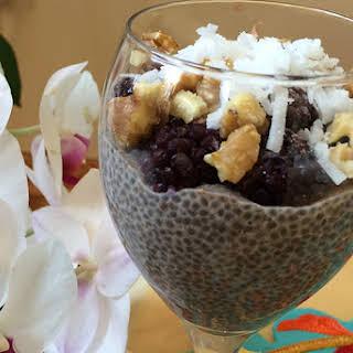 Ramadan Chia Seed Pudding.