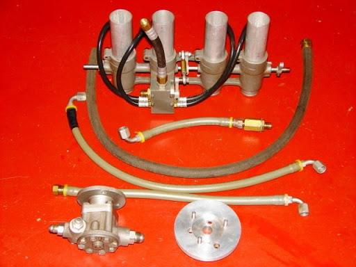 Kit Hilborn pour Kawasaki 4 cylindres.