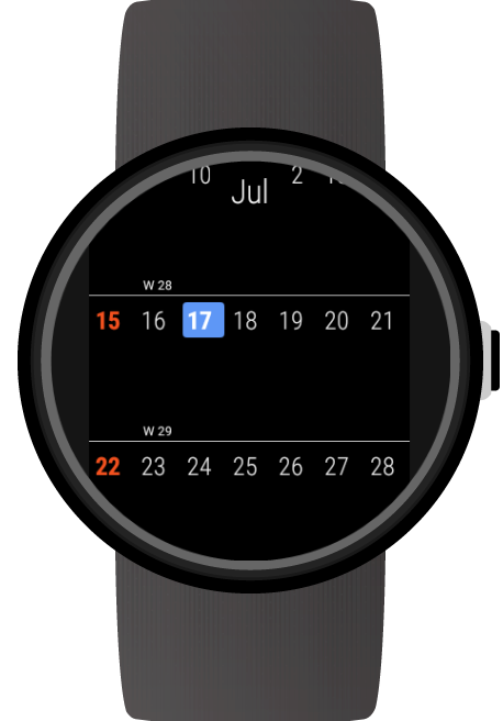 Altimeter for Wear OS (Android Wear) screenshots