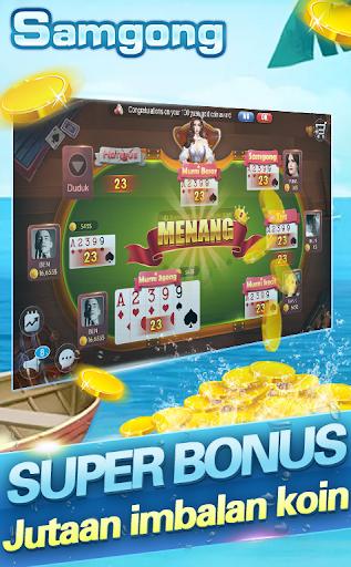 Samgong online samkong pulsa gratis poker free android2mod screenshots 2