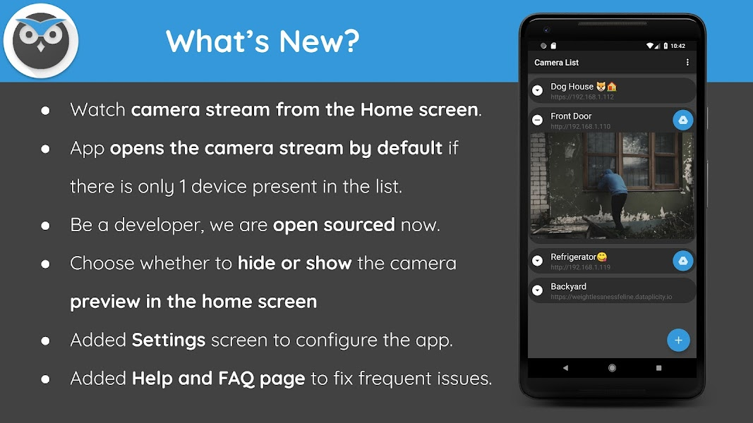 motionEye app - Home Surveillance System