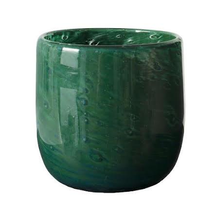 Marcus Ljuskopp grön H:10cm, Ø:10cm
