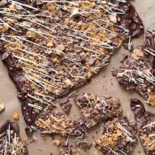Butterfinger Candy Bark