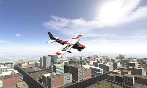 비행 파일럿 3D 시뮬레이터 2015