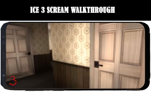 Ice 3 Cream neighbor ice Rod Scream Hints MOD 3 screenshot 3