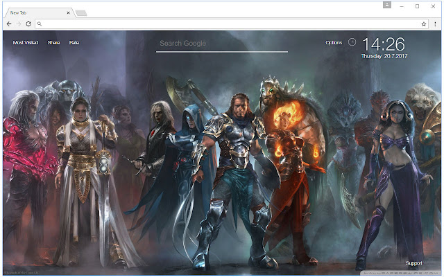 Magic the Gathering Wallpaper HD New Tab