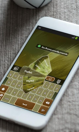 玩免費個人化APP|下載黄重Huáng zhòng GO Keyboard app不用錢|硬是要APP