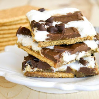 S'Mores Cracker Candy Recipe