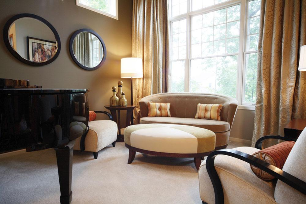Soft-Contemporary-Living-Room-by-Herrick-Design-Group How to arrange furniture in an awkward living room