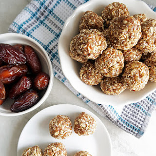 No-Bake Chai Spiced Date Energy Balls.