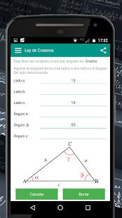 Ley de Senos y Cosenos - náhled
