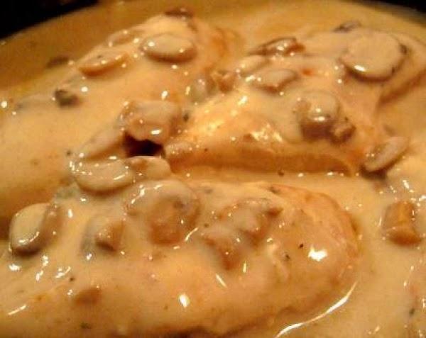 Chicken With Mushroom Gravy Recipe