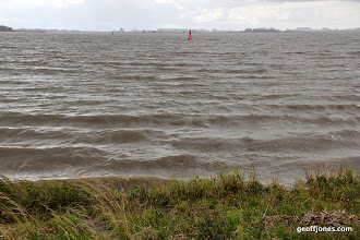 Photo: The Elbe - very  wide now