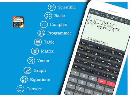 HiEdu Scientific Calculator Pro (MOD, Paid) v1.1.0 1