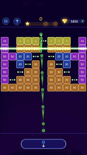 Bricks Breaker - Ball Crusher android2mod screenshots 5