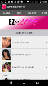 Chat, Flirt & Dating EZinLove screenshot 1