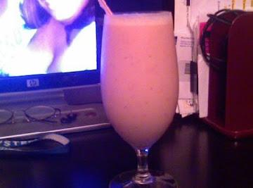 Straw-nana Smoothie! :o) Recipe