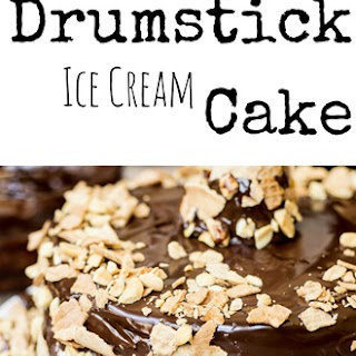 Drumstick Ice Cream Cake