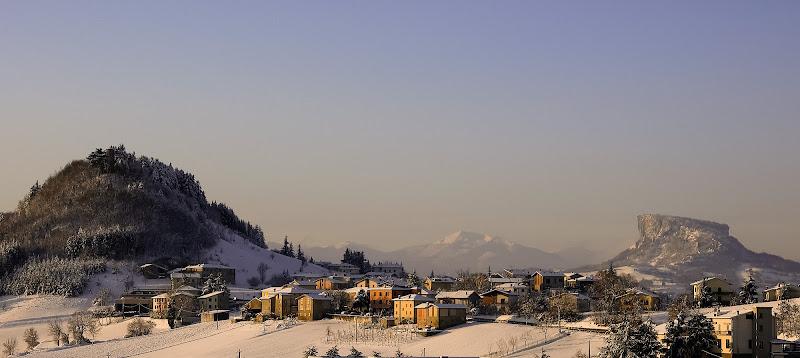 Paesaggio Invernale: Panoramica di Rino Lio