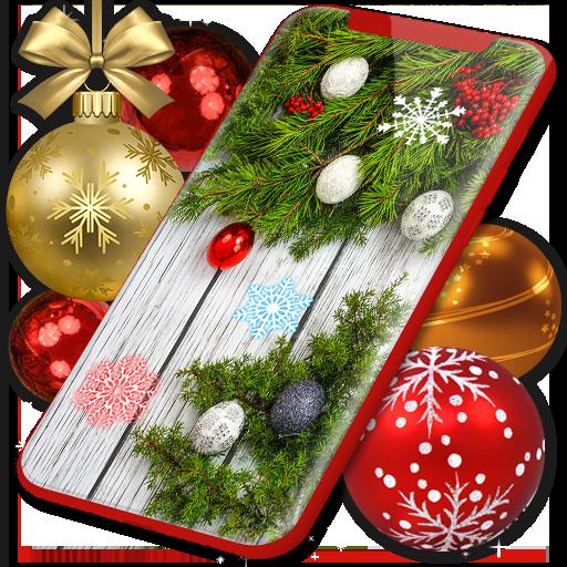 Baixar Christmas Wallpapers 🎅 Xmas Tree Live Wallpaper para Android
