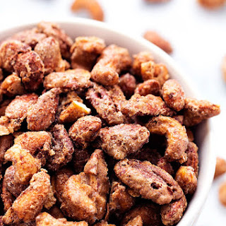 Roasted Cinnamon Sugar Candied Nuts
