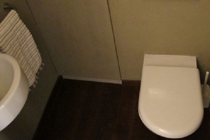 Toilet at 2 Bedroom Apartment in Marais Charlot