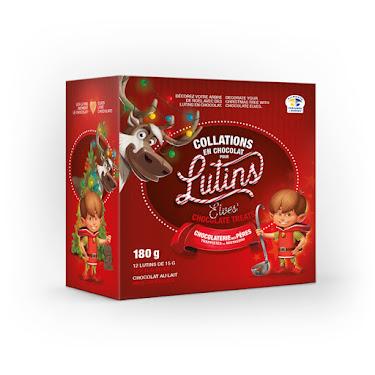 Chocolat Collations en chocolat pour Lutins Noël