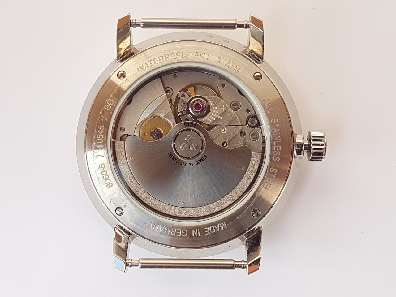 Junkers Bauhaus Miyota movement