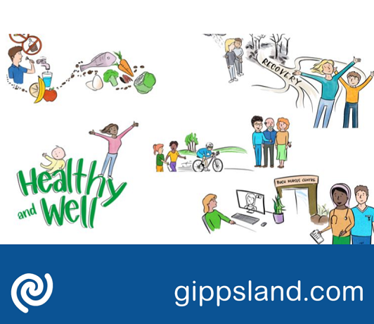 Healthy and well: East Gippslanders are socially, emotionally, mentally and physically health and well
