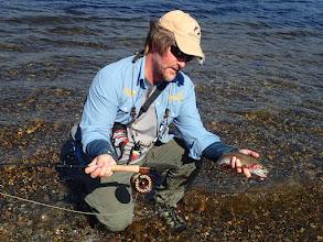Photo: Grebe Lake Rainbow trout