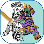 Coloring Book for Adults - Colorfy - Mandala Human icon