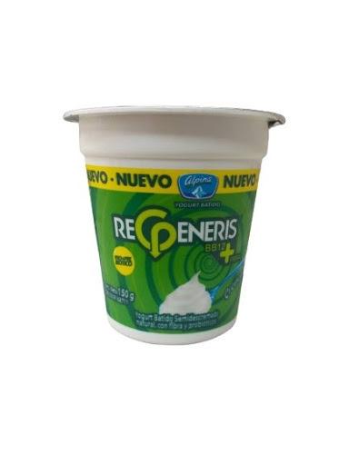 yogurt alpina regeneris descremado natural 150gr