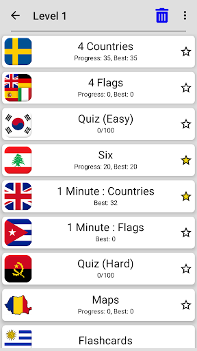 Flags of All Countries of the World: Guess-Quiz screenshots 7