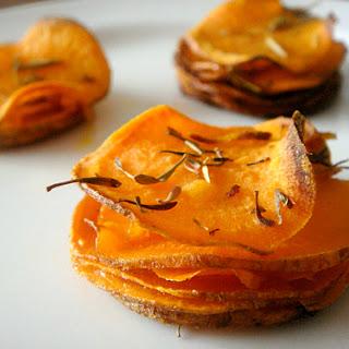 Roasted Sweet Potato Stacks