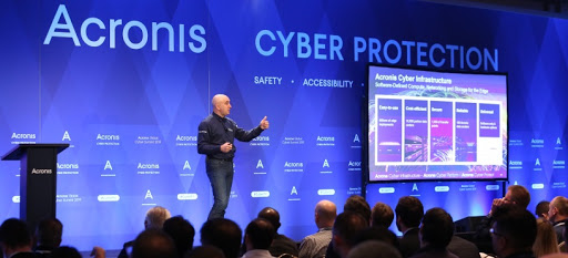 Serguei Beloussov, Founder & CEO of Acronis, Presenting Cyber Protection.
