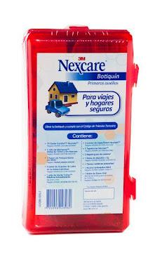 Botiquín 3M Nexcare Rojo   Primeros Auxilios Vehículo x1Und.