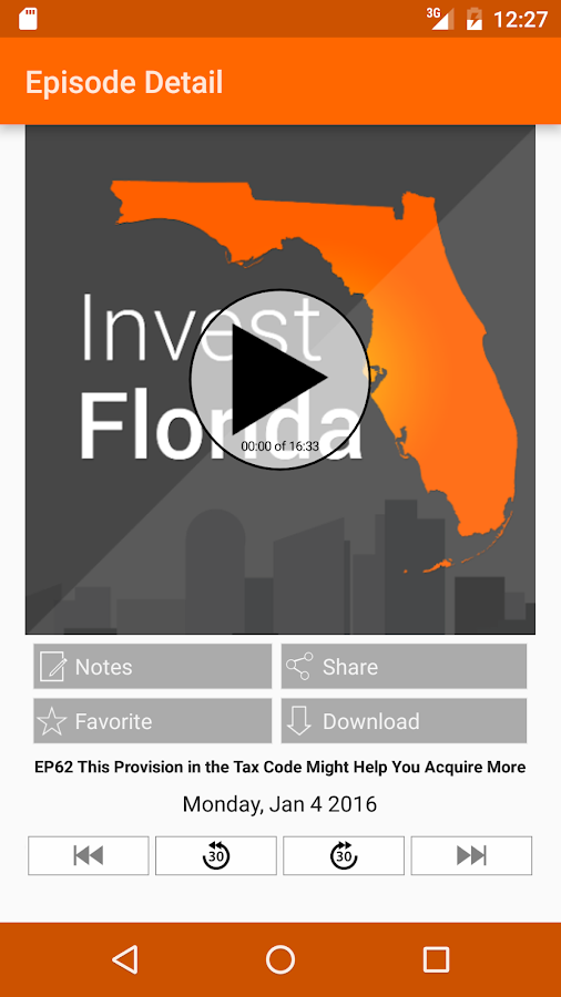 Invest Florida- screenshot