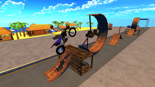Racing Bike Stunts & Ramp Riding 1.6 screenshots 1