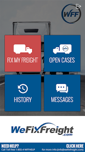 We Fix Freight Applet- screenshot thumbnail
