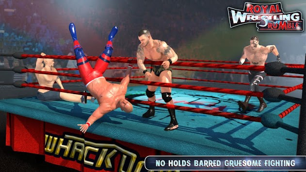 ROYAL WRESTLING RUMBLE REVOLUTION : FIGHTING 2K18 apk screenshot