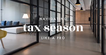 Navigating Tax Season - Facebook Event Cover Template