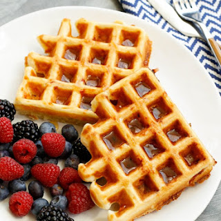 Ham and Cheese Waffles Recipe