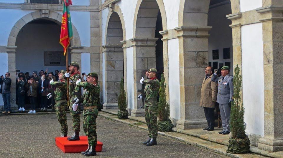 """""""Rangers"""" realizaram cerimónia militar de encerramento de cursos"""