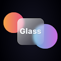 Glass morphism icon pack icon