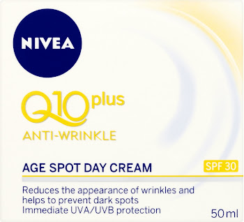 Nivea Q10+ Anti-Wrinkle Age Spot Day Cream - SPF 30, 50ml
