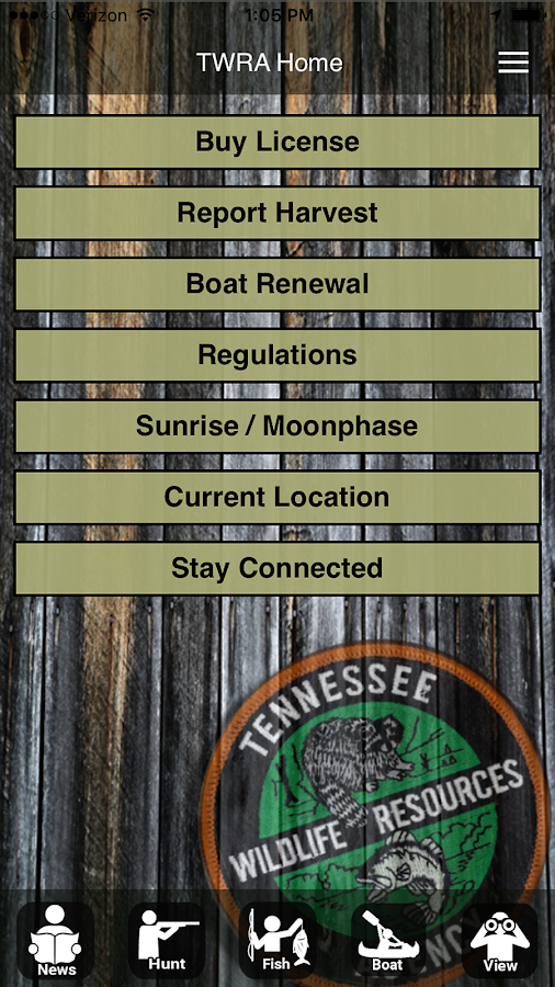 Twra on the go 2 0 android apps on google play for Tn fishing license